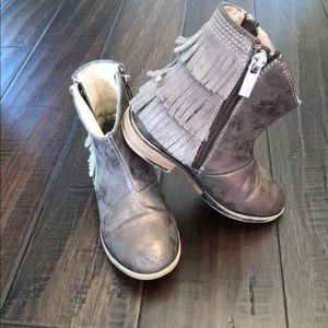 Kenneth Cole Bronze Boots